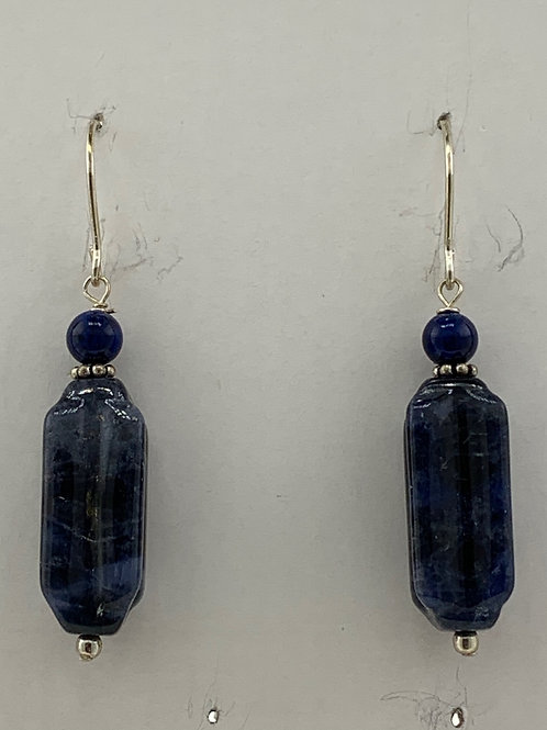 Lapis and Sodolite on Sterling Silver