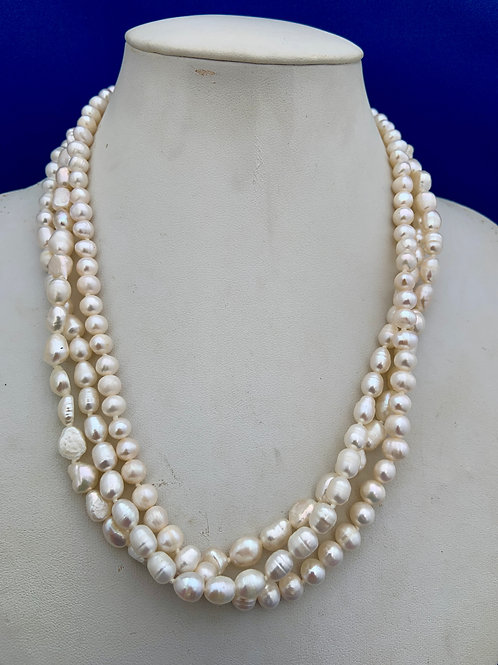 Freshwater Pearl with Sterling Silver