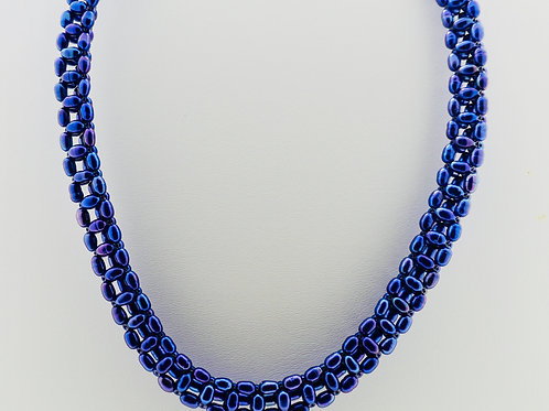 Woven Freshwater Pearl Necklace