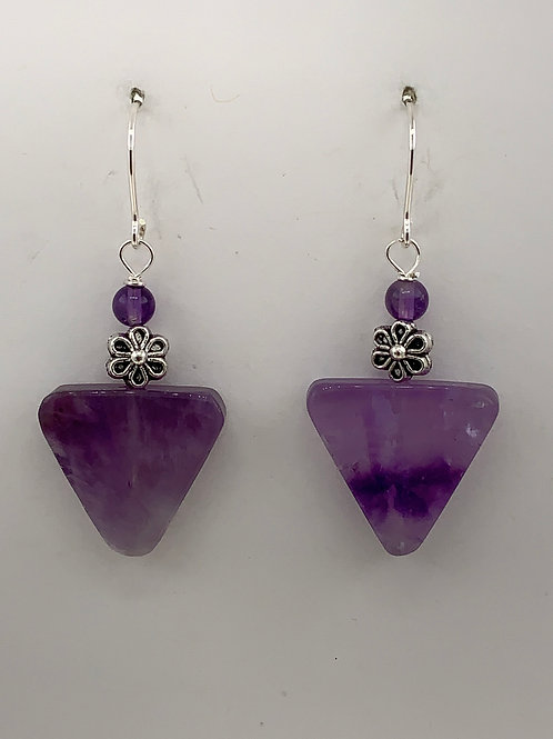 Amethyst on Sterling Silver