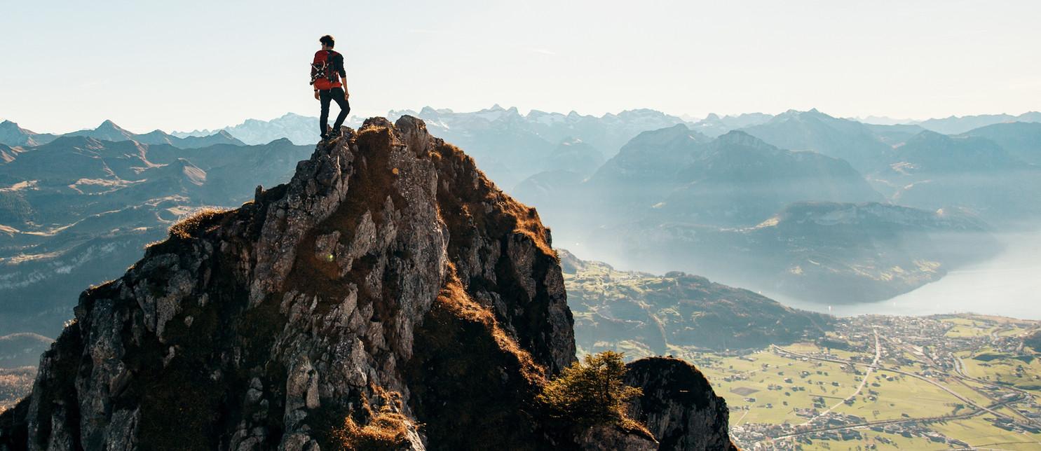 Bergsteigen im Salzkammergut