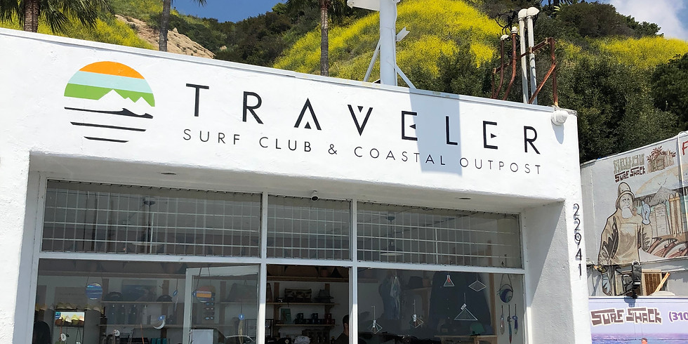 Pop Up at Traveler Surf Club
