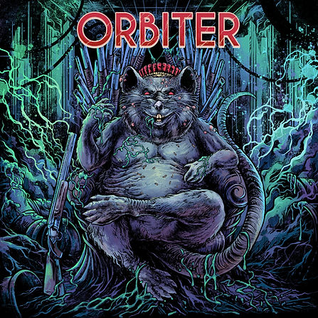 Orbiter - Lead Head cover art by Artmofate