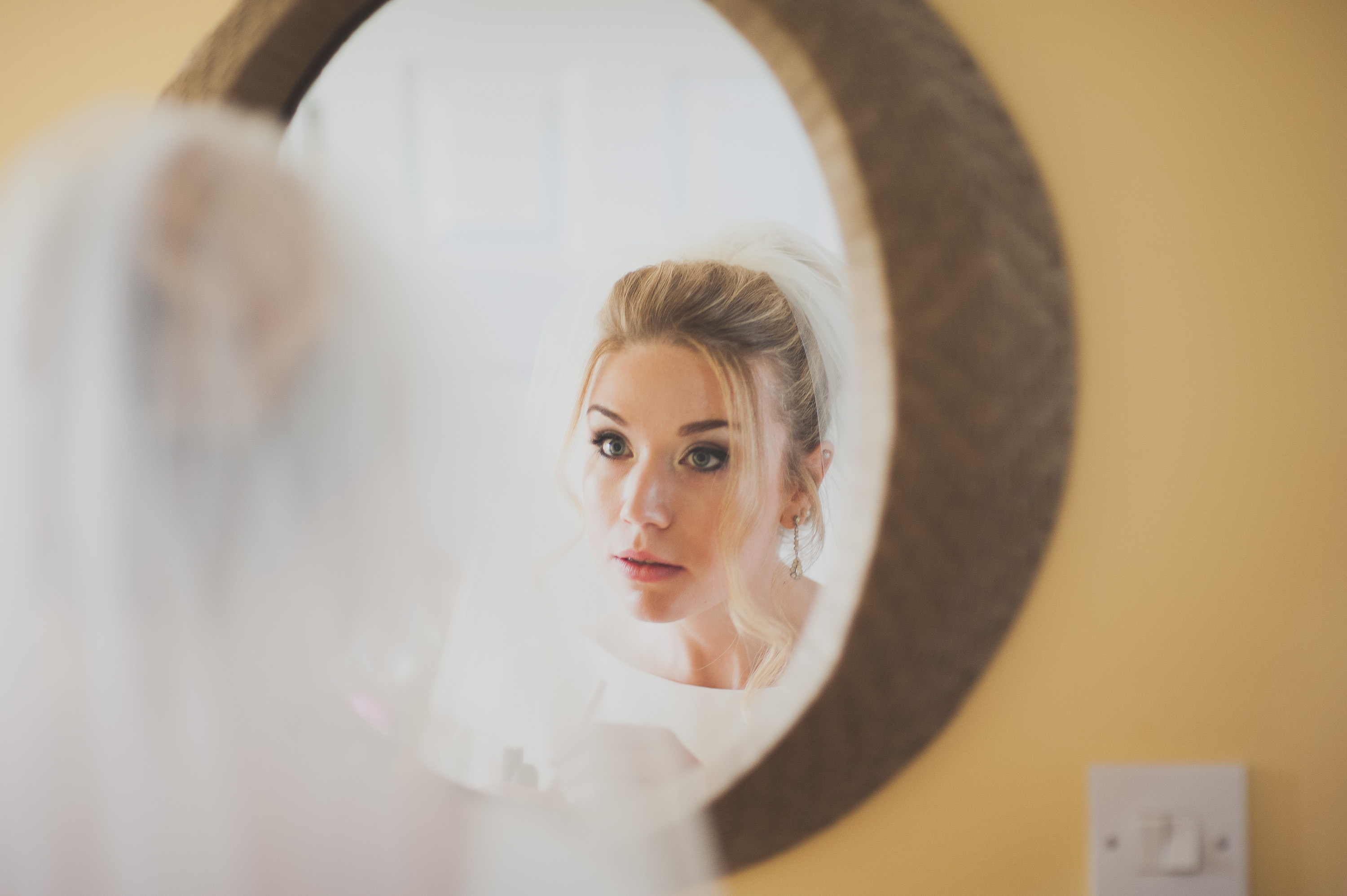 Wedding Bride Photography in Wells
