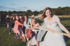 Devon festival wedding, marc le galle somerset wedding photographer