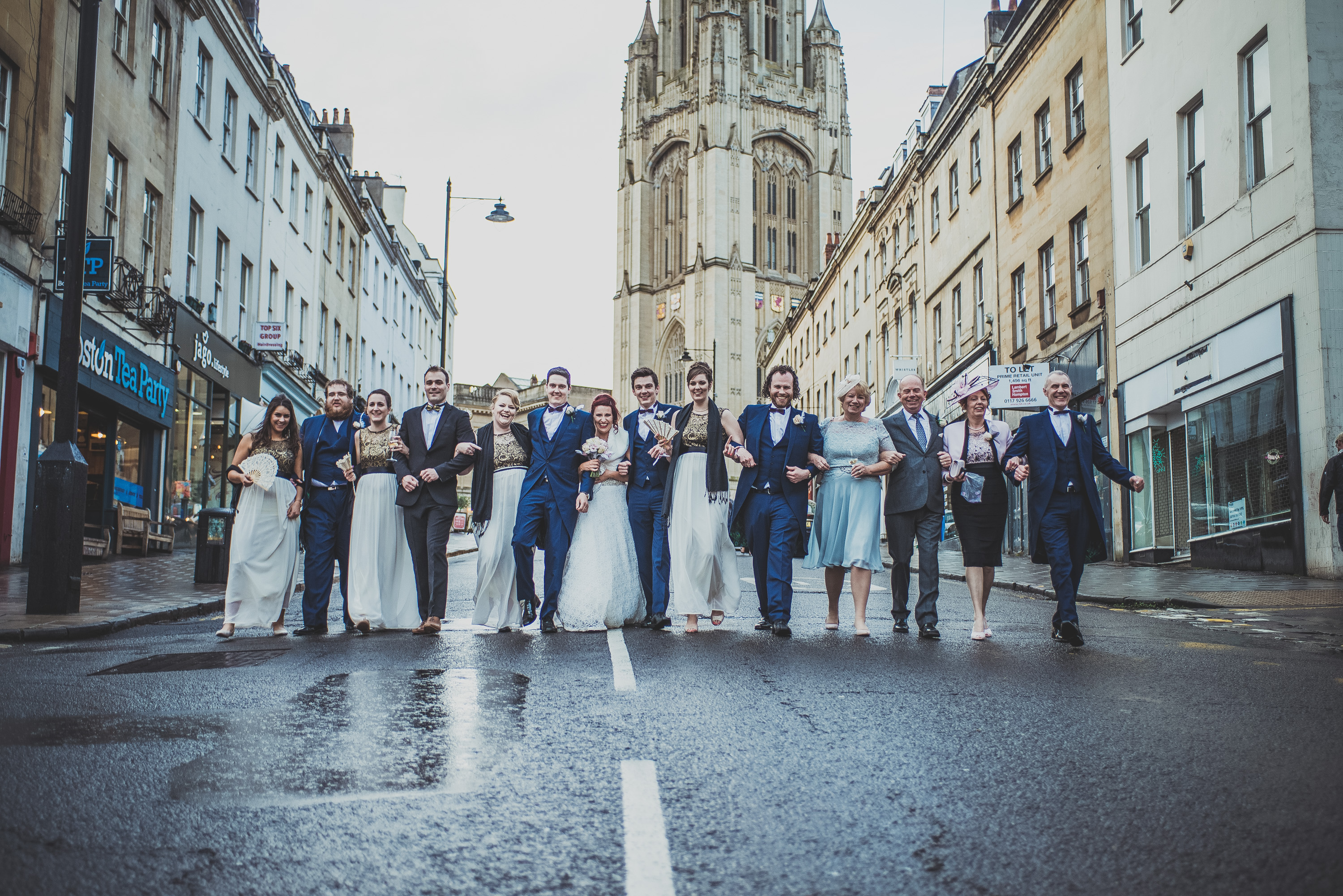 Wedding Photography Bristol, Park St