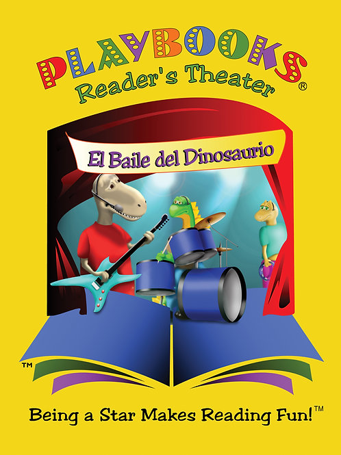 Doing the Dinosaur Dip (in English-Over-Spanish) - $42