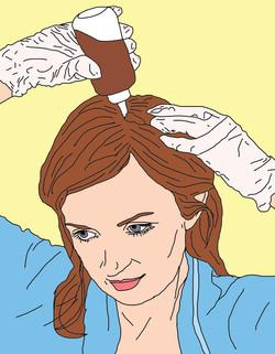self-hair-coloring
