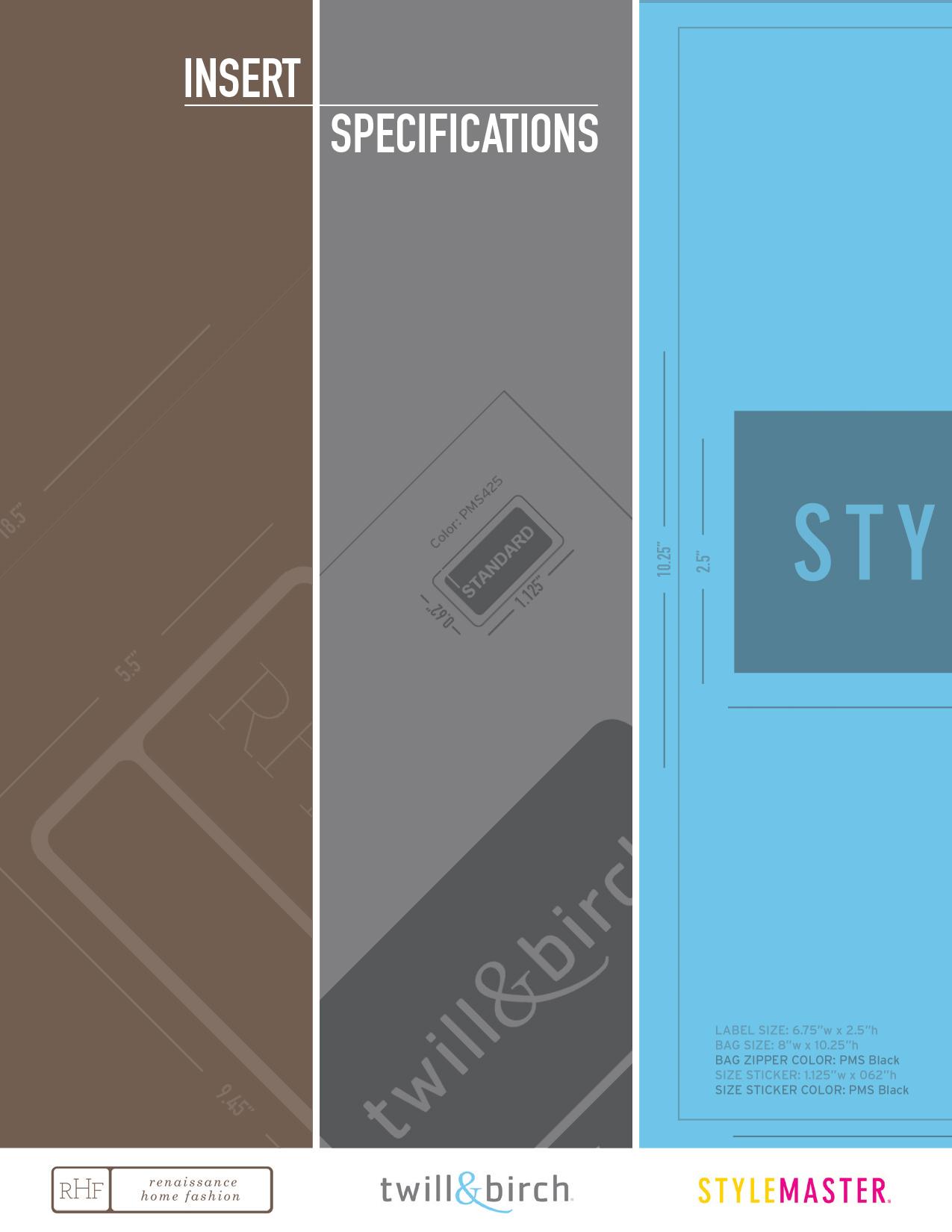 Packaging Manual | 34 page brochure