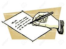 14914116-un-dessin-d-une-main-qui-écrit-