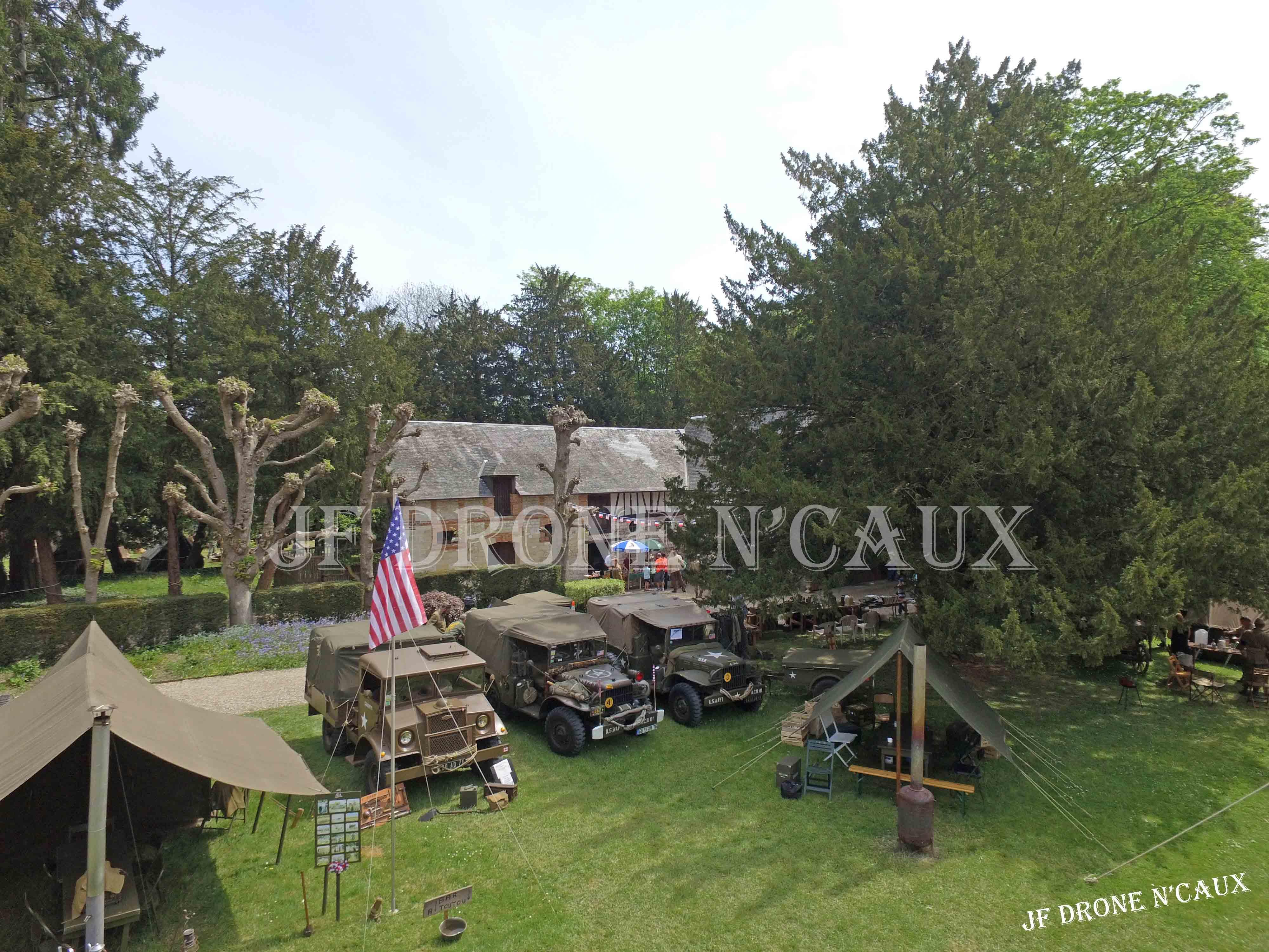 Commémorations du 8 mai 1945 au Chateau Du Taillis à Duclair DJI_0403