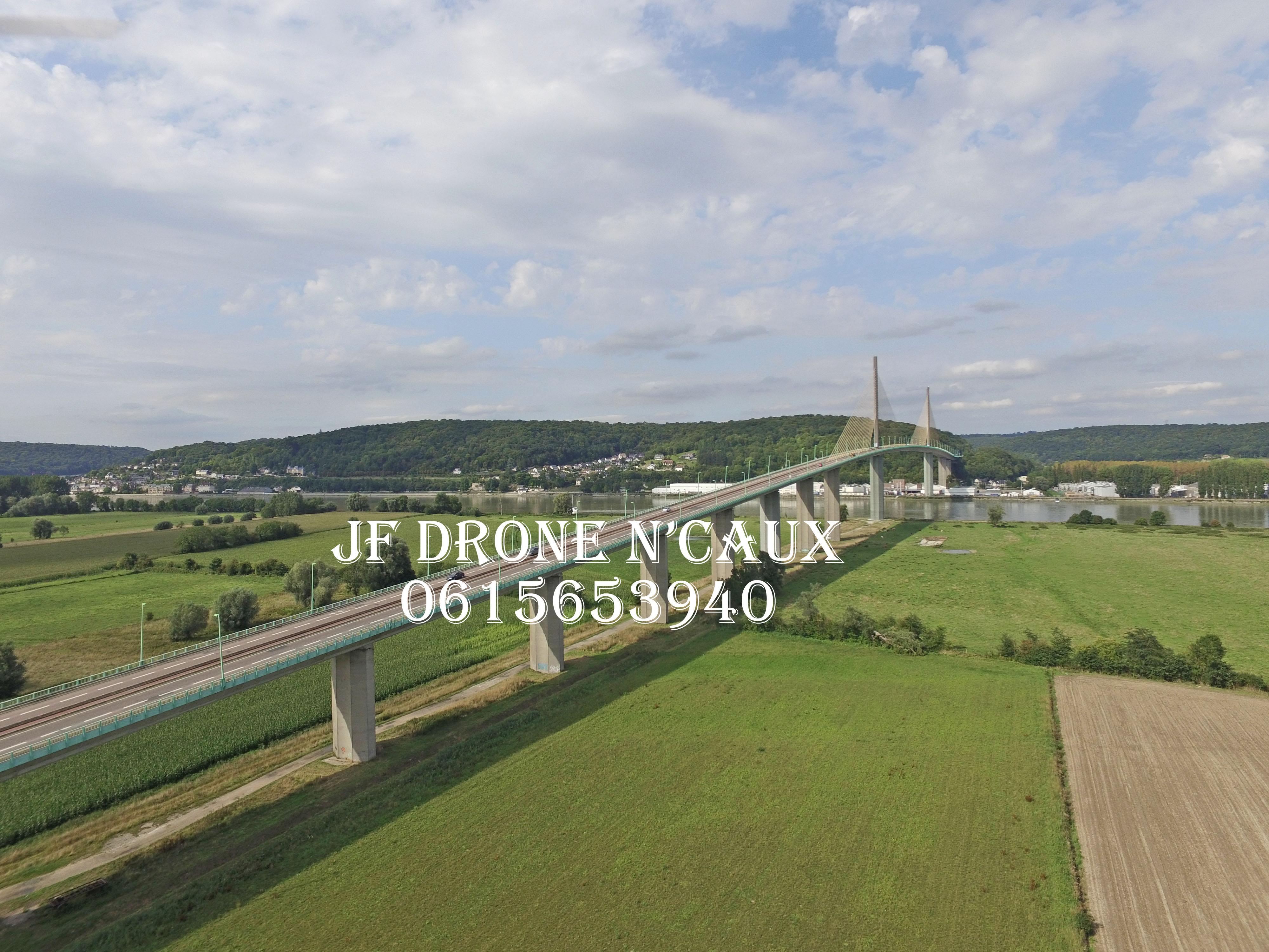 Pont de Brotonne JF DRONE N'CAUX