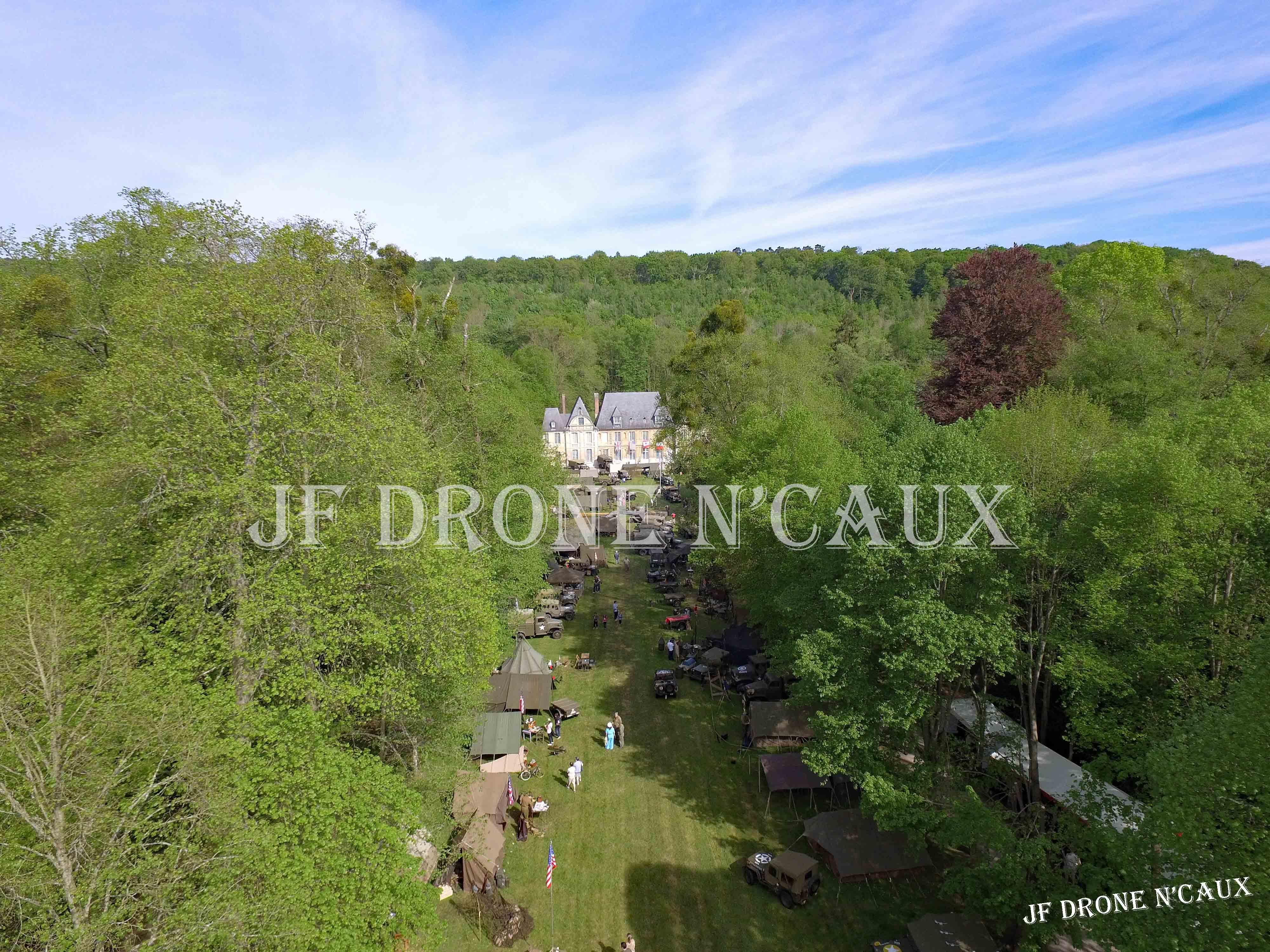 Commémorations du 8 mai 1945 au Chateau Du Taillis à Duclair DJI_0162
