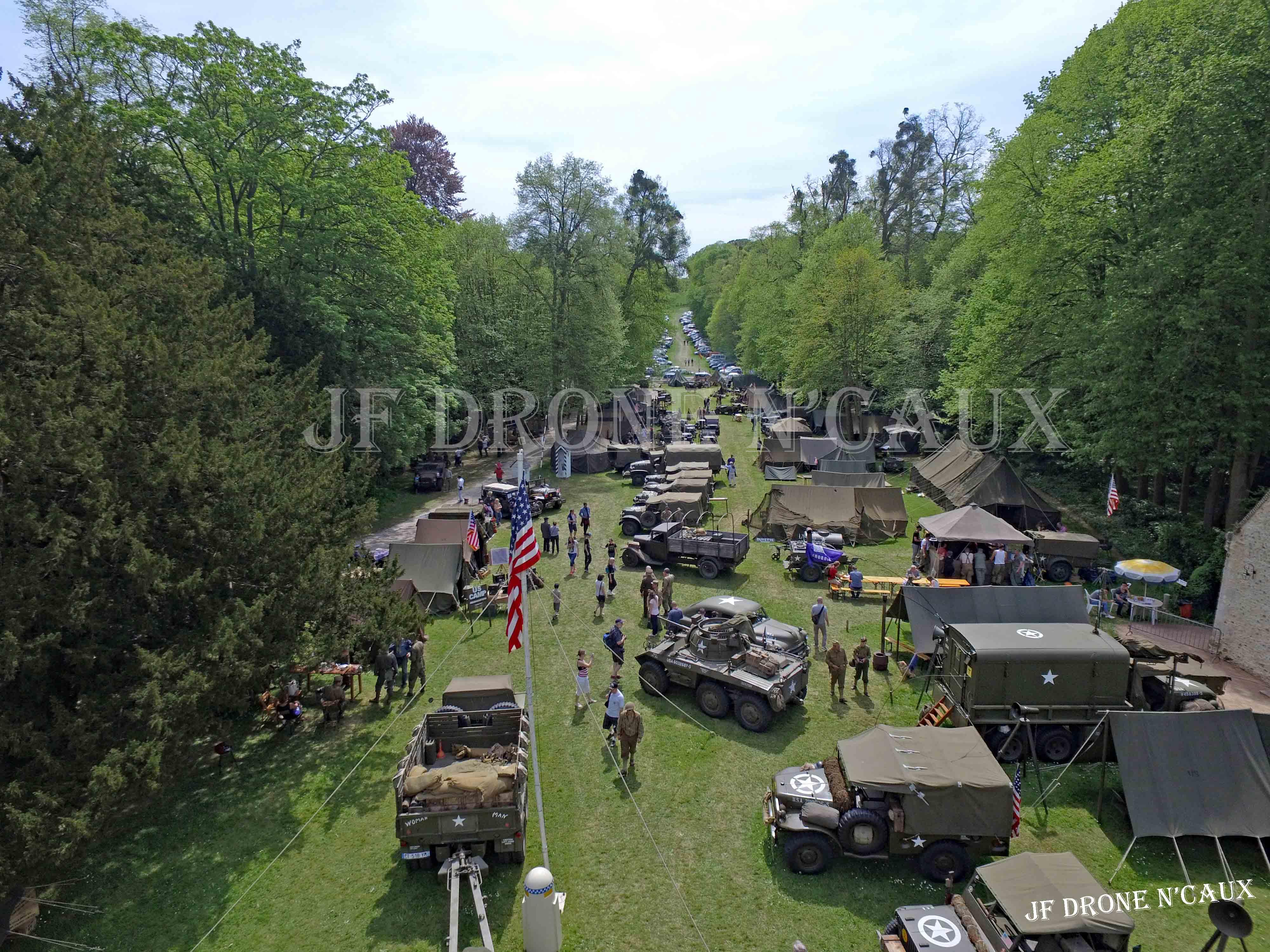 Commémorations du 8 mai 1945 au Chateau Du Taillis à Duclair DJI_0421