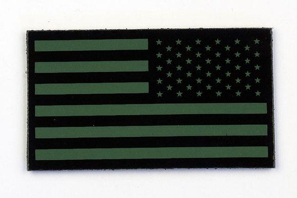 US OLIVE FLAG WITH STARS ON RIGHT SKU: AF-2010