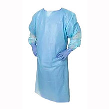 Disposable Open-Back PE Gown - Level 2 (Berry Compliant)