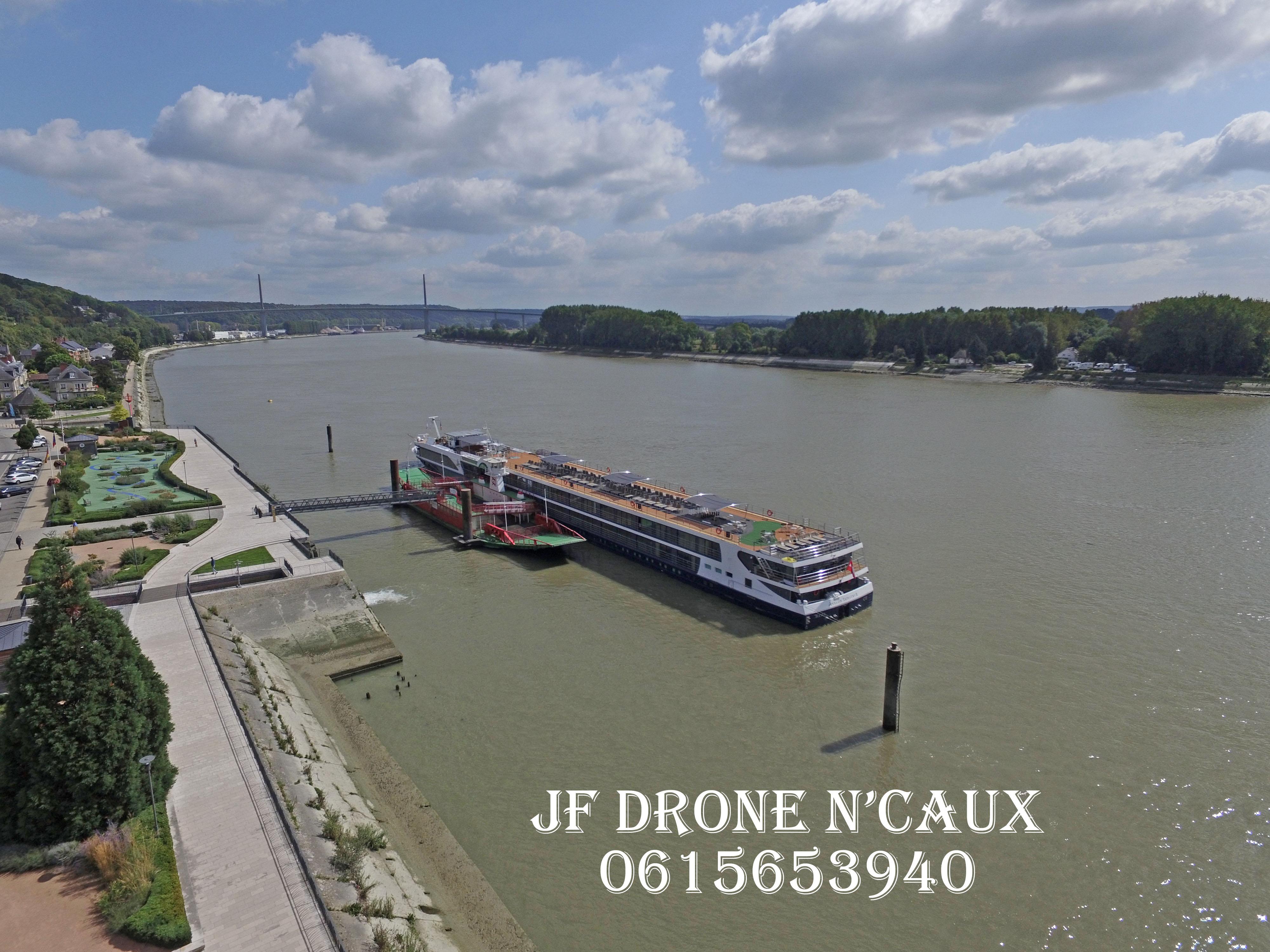 Caudebec en Caux et La Seine