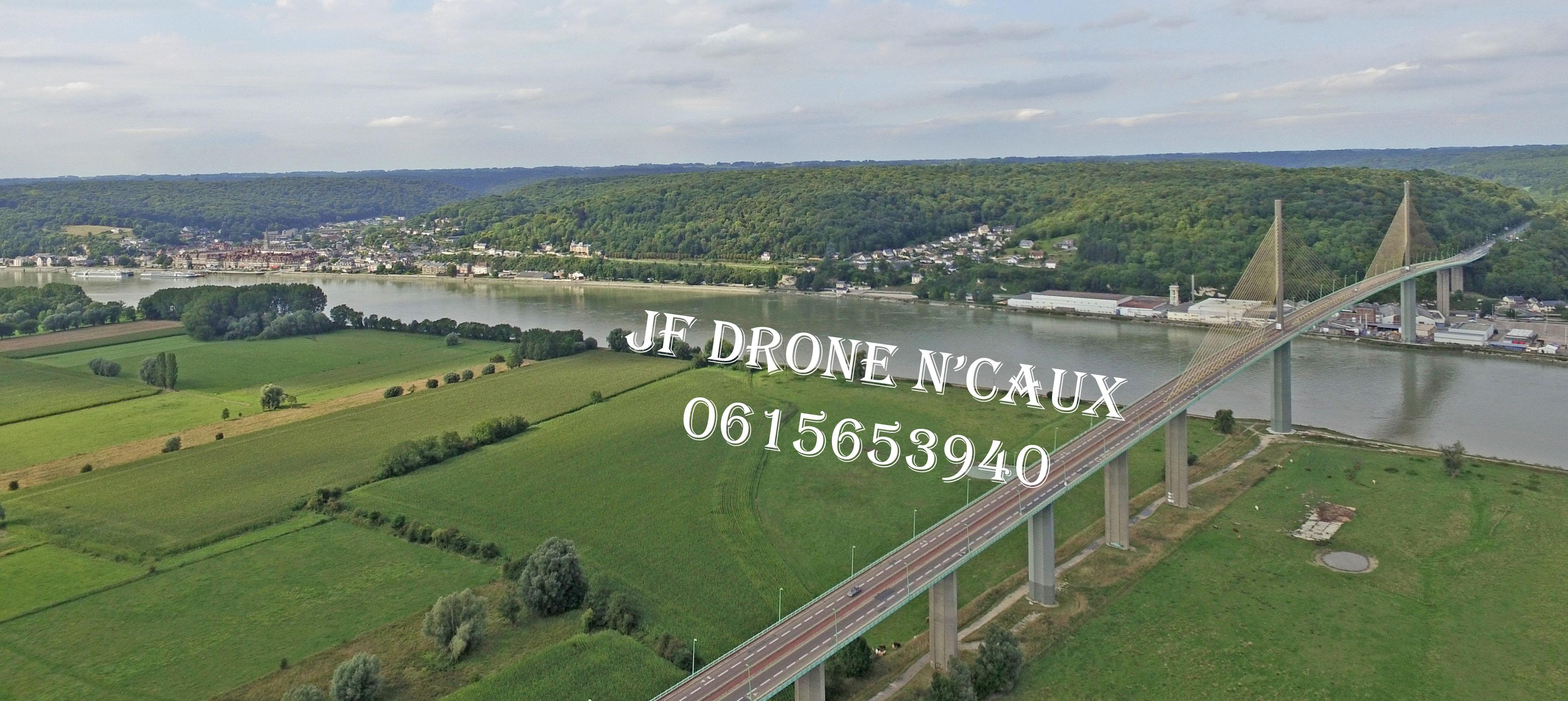 Pont de Brotonne et Caudebec en Caux