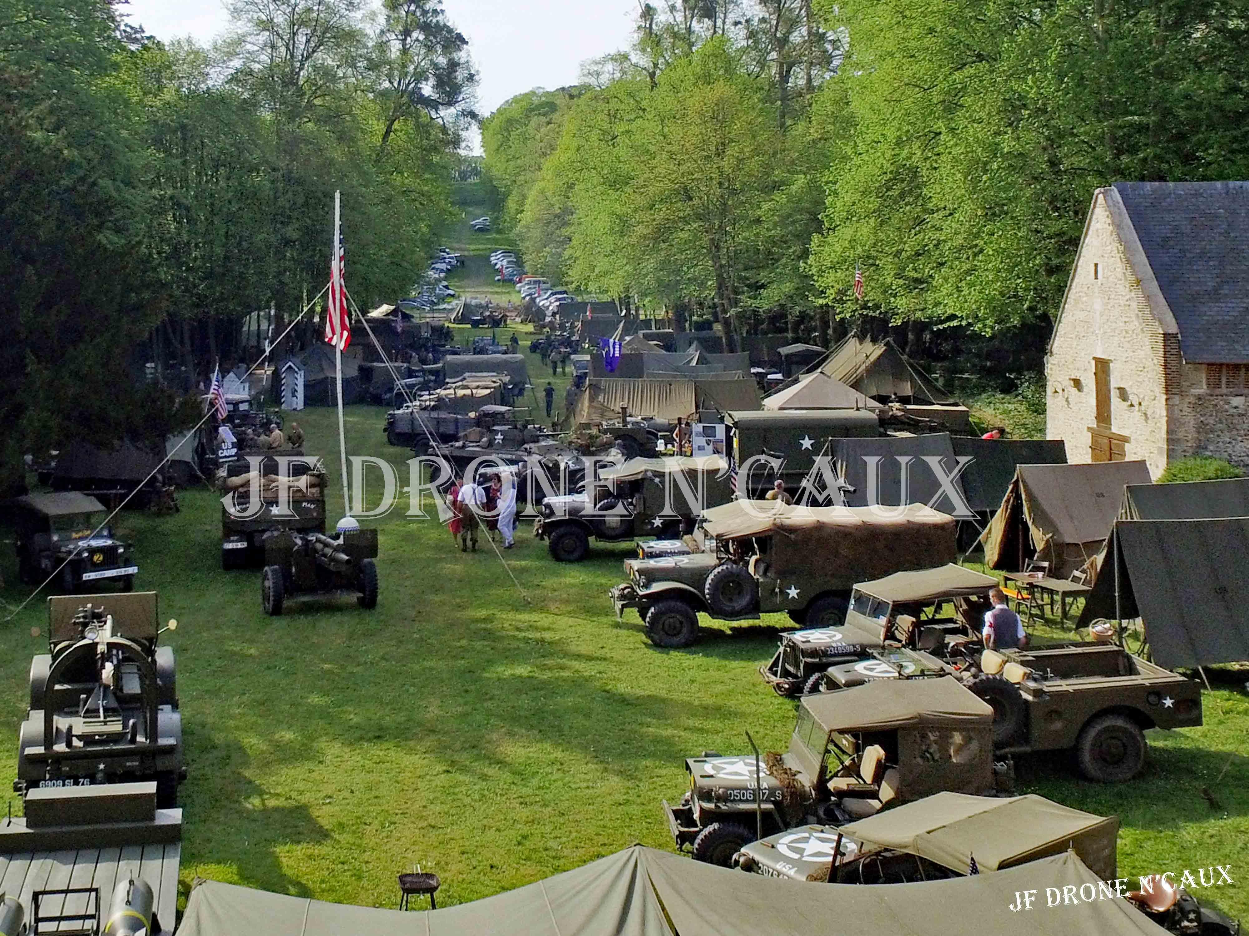 Commémorations du 8 mai 1945 au Chateau Du Taillis à Duclair DJI_0003
