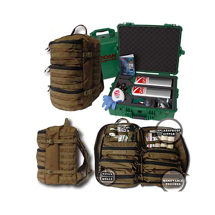 Boat Trauma Bag with Dive pack Upgrade