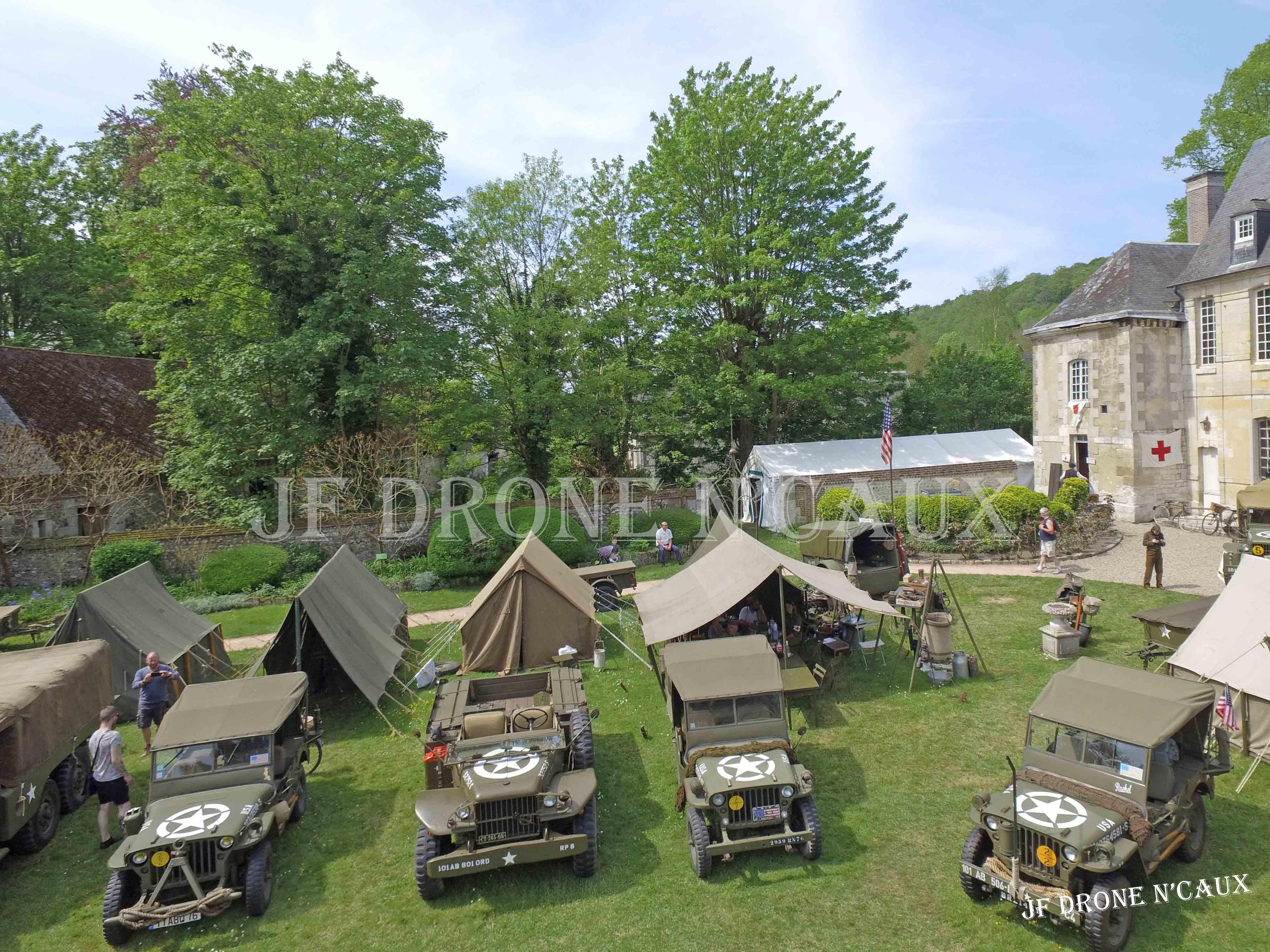 Commémorations du 8 mai 1945 au Chateau Du Taillis à Duclair DJI_0373