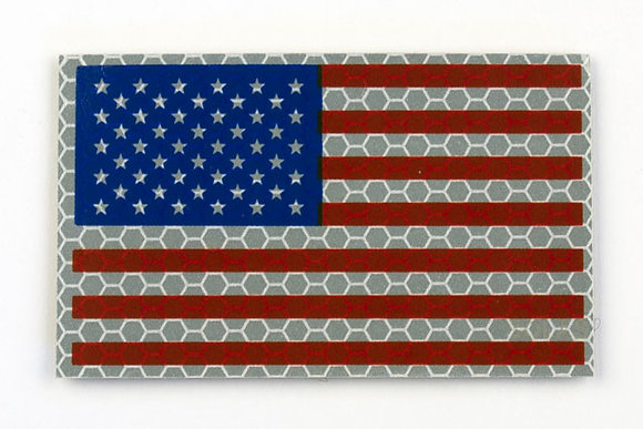 US RWB FLAG WITH STARS ON LEFT SKU: AF-2002