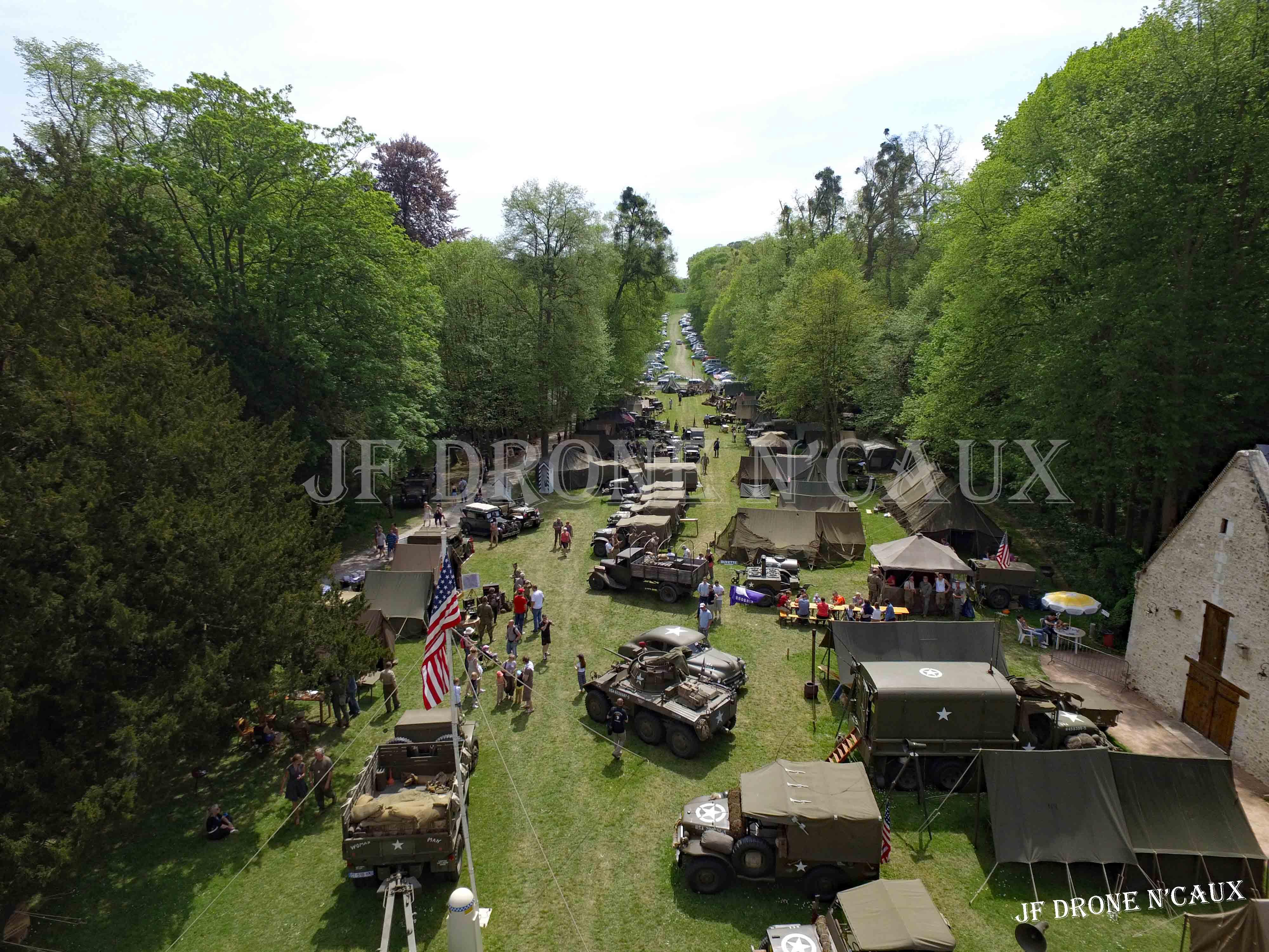Commémorations du 8 mai 1945 au Chateau Du Taillis à Duclair DJI_0439