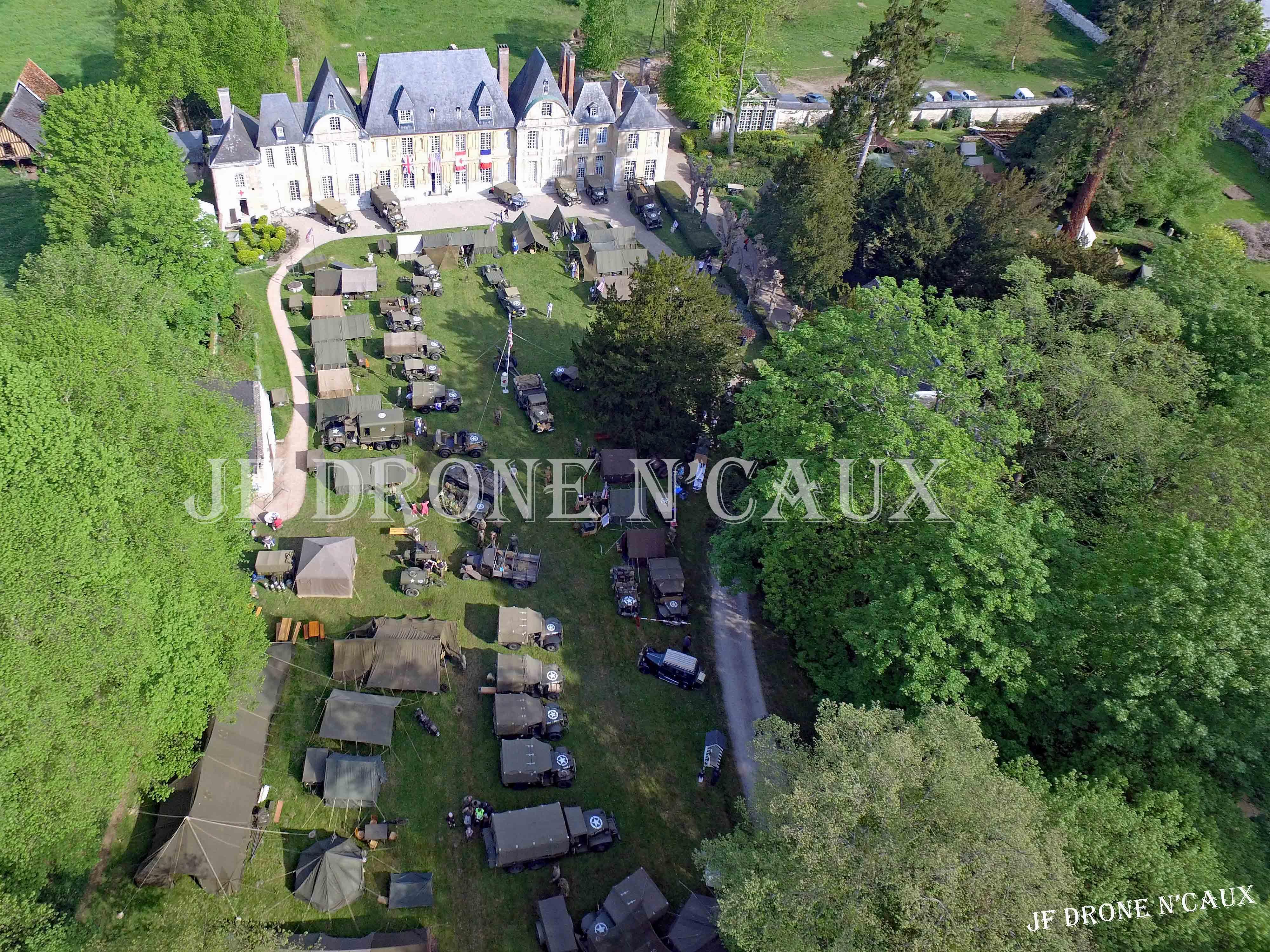 Commémorations du 8 mai 1945 au Chateau Du Taillis à Duclair DJI_0058