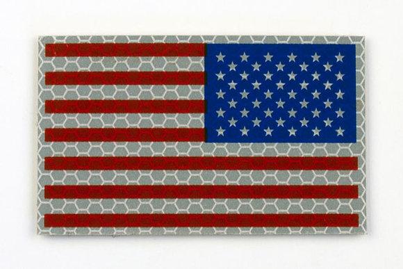 US RWB FLAG WITH STARS ON RIGHT SKU: AF-2001