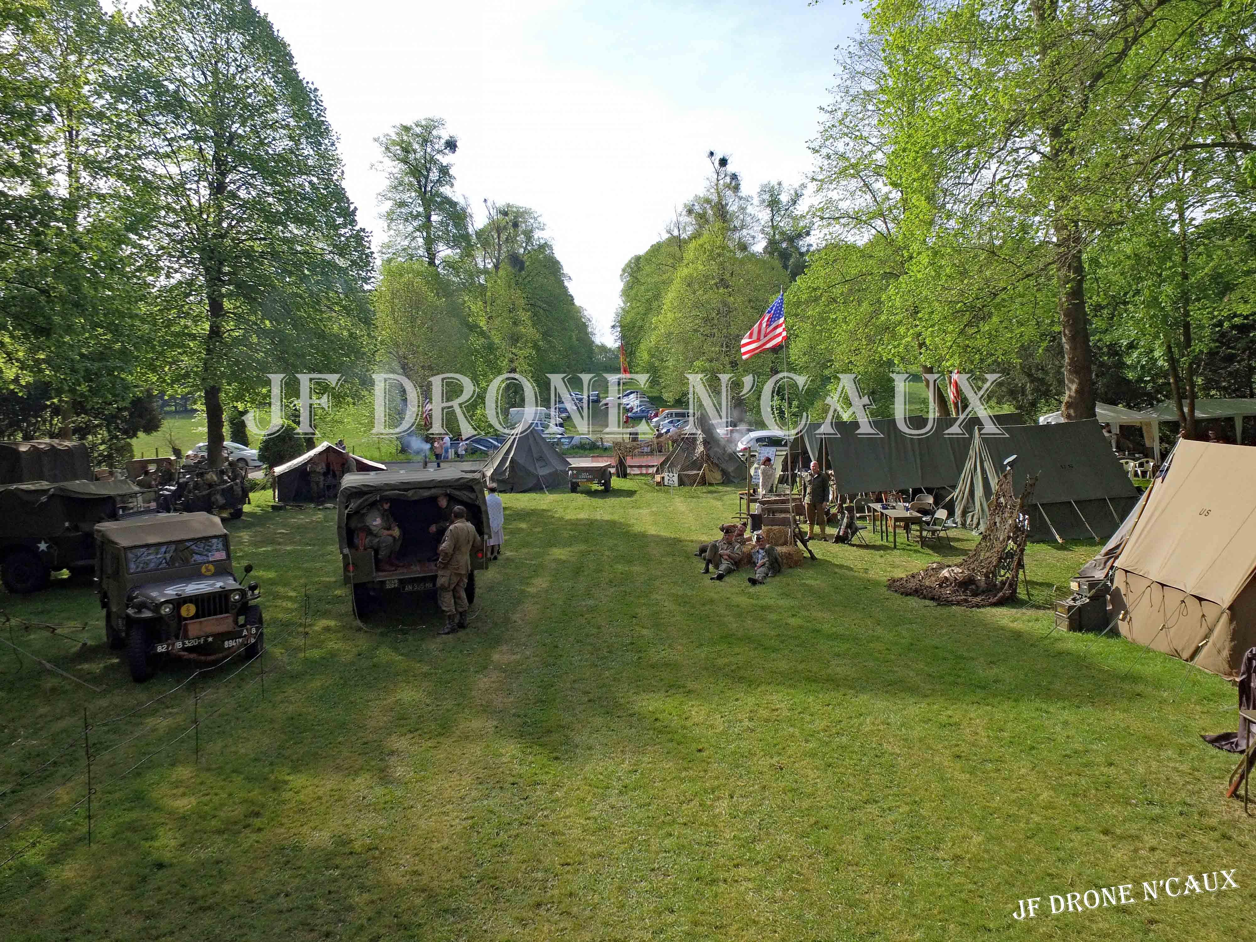 Commémorations du 8 mai 1945 au Chateau Du Taillis à Duclair DJI_0144