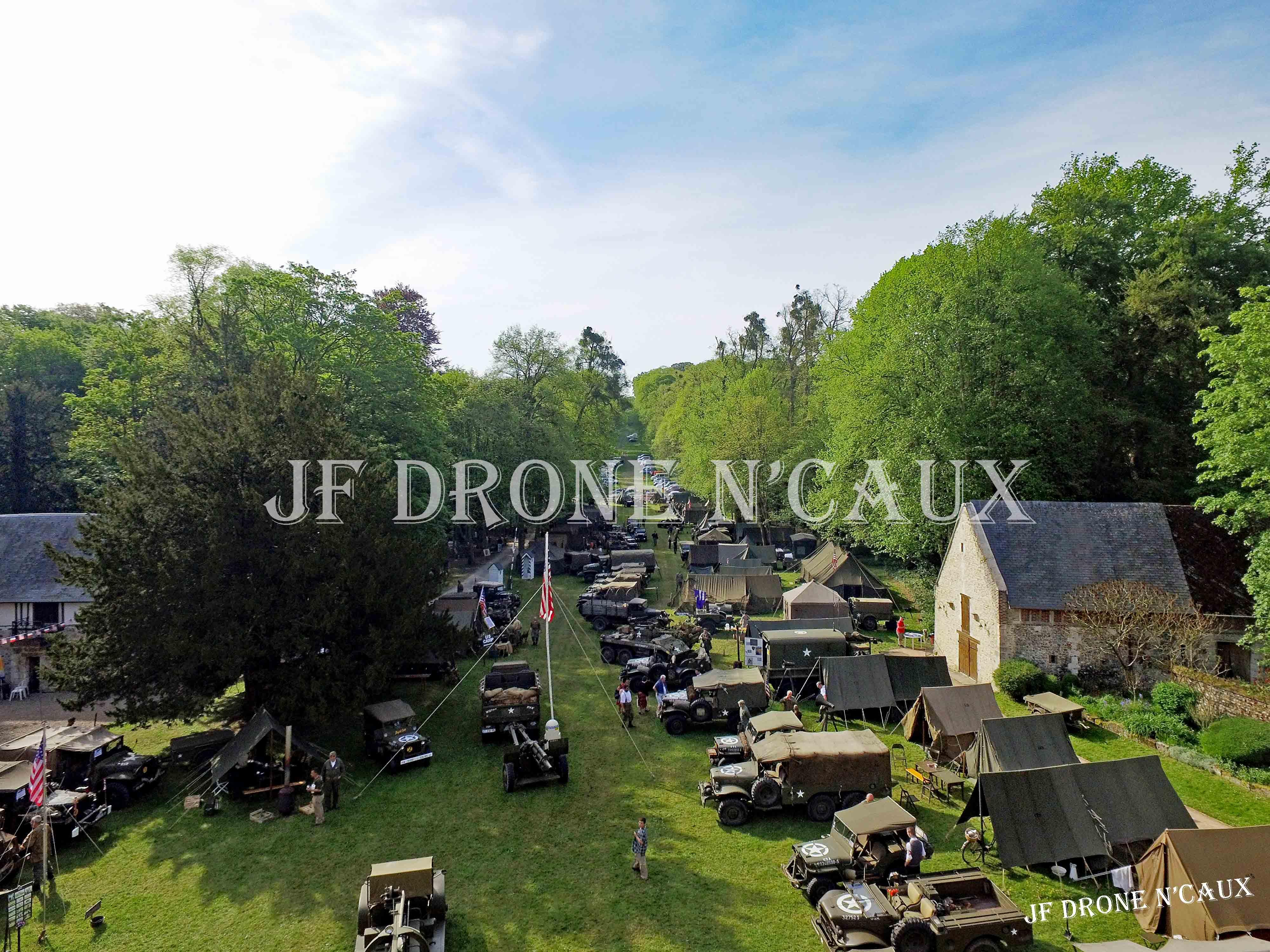 Commémorations du 8 mai 1945 au Chateau Du Taillis à Duclair DJI_0006