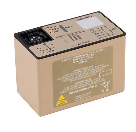 2590 Smart Battery Half Stack (125 Wh)
