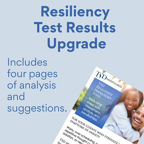 Resiliency Test Results Upgrade