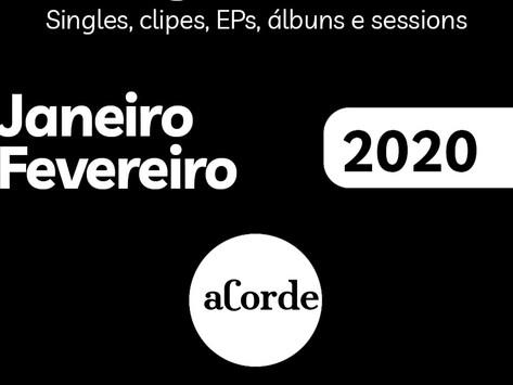 Lançamentos Janeiro e Fevereiro de 2020
