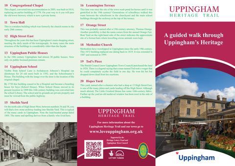 Uppingham Heritage Trial