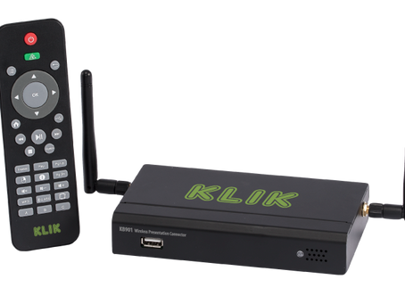 KLIK launches new models, new software and new firmware at ISE Amsterdam; upgrades family of Wireles