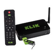 KLIK Boks PLUS Wireless Screen Mirroring System with Remote Control