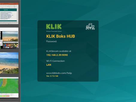 #4 of 10 Top Features of KLIK Boks HUB: Visual Moderator Mode