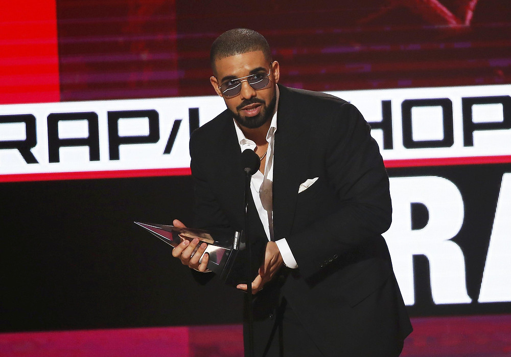 Drake is one of the most popular choices for music-loving workers. Photo: Reuters/Mario Anzuoni