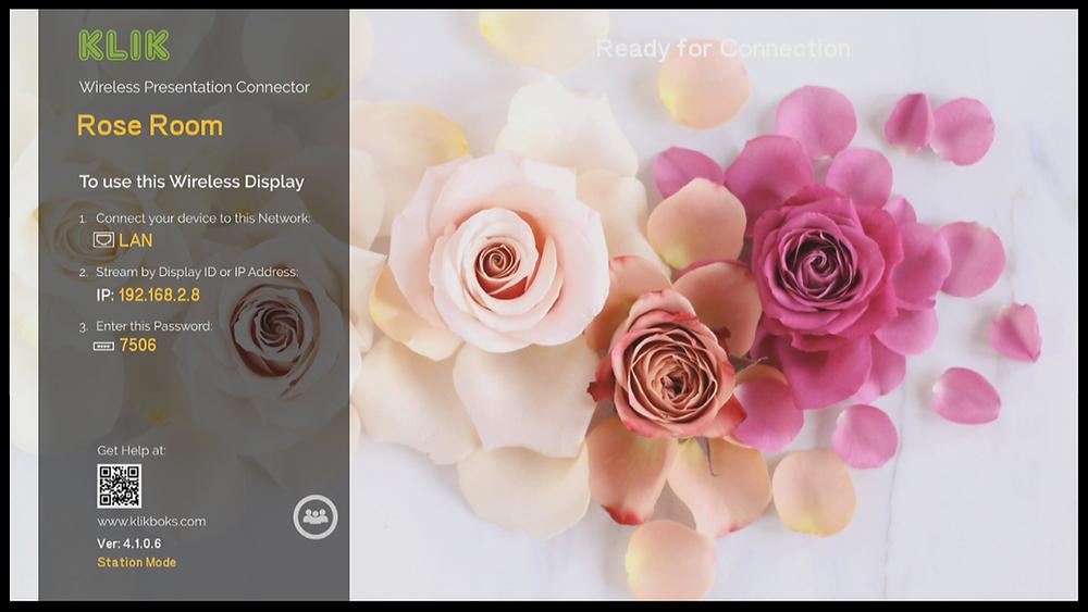 KLIK Desktop Wallpapers Can Be Customized