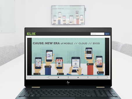 Screen Mirroring plus Screen Sharing, All in one Device - KLIK Does That!