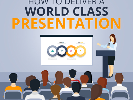 Top 5 Tips to Deliver a Presentation Efficiently