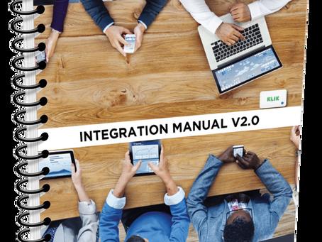 KLIK Boks Integration Manual now available for download.