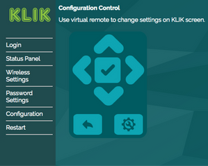 New, streamlined configuration and setup interface