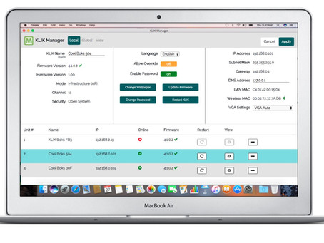 KLIK Releases Central Management System Application - KLIK Manager