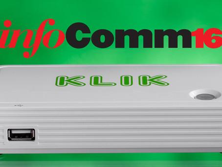 KLIK Boks comes to InfoComm 2016