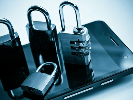 Protecting business data with smartphone security