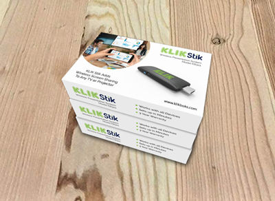 KLIK Stik is the affordable way to add wireless screen sharing to every screen.