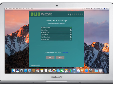 KLIKWizard 2.0.3 Setup Automation & Management App, Now Available for Download.
