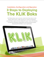3 Steps to Deploying the KLIK Boks